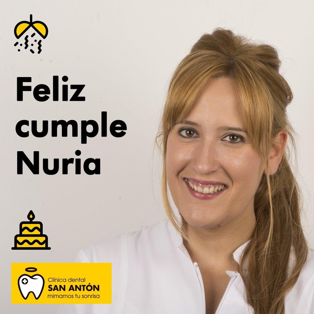 Por estas fechas Nuria se incorporó a nuestro equipo como higienista dental y hoy celebramos su cumpleaños. 🤗¡Muchas felicidades Nuria! Te deseamos que pases un día estupendo y te mandamos muchos abrazos. 🎉   ⠀ #Equipo #ClínicaDental #Murcia #Profesionales #Cumpleaños https://t.co/25Qlk94EZX