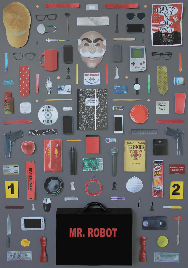 Iconic objects of tv-shows by @jordanboltondesign