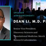Image for the Tweet beginning: Dean Li, M.D. Ph.D. Senior Vice