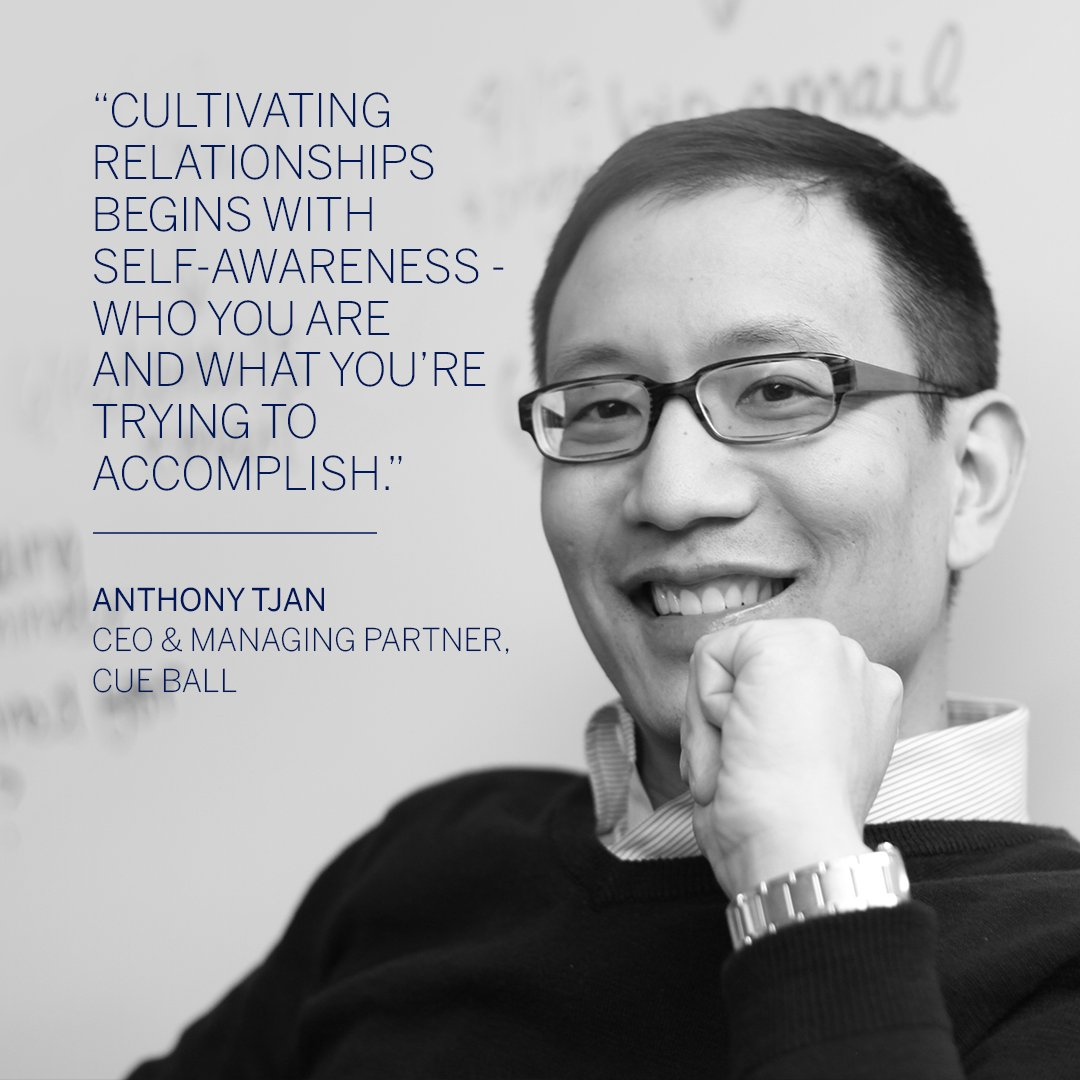 Missed this week's live Q&A with @AnthonyTjan? Check out the @cueballcapital CEO & Managing Partner's anything-but-typical tips for enhancing your network. Watch here:  #AmexBusiness