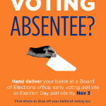 Image for the Tweet beginning: If you ordered an absentee