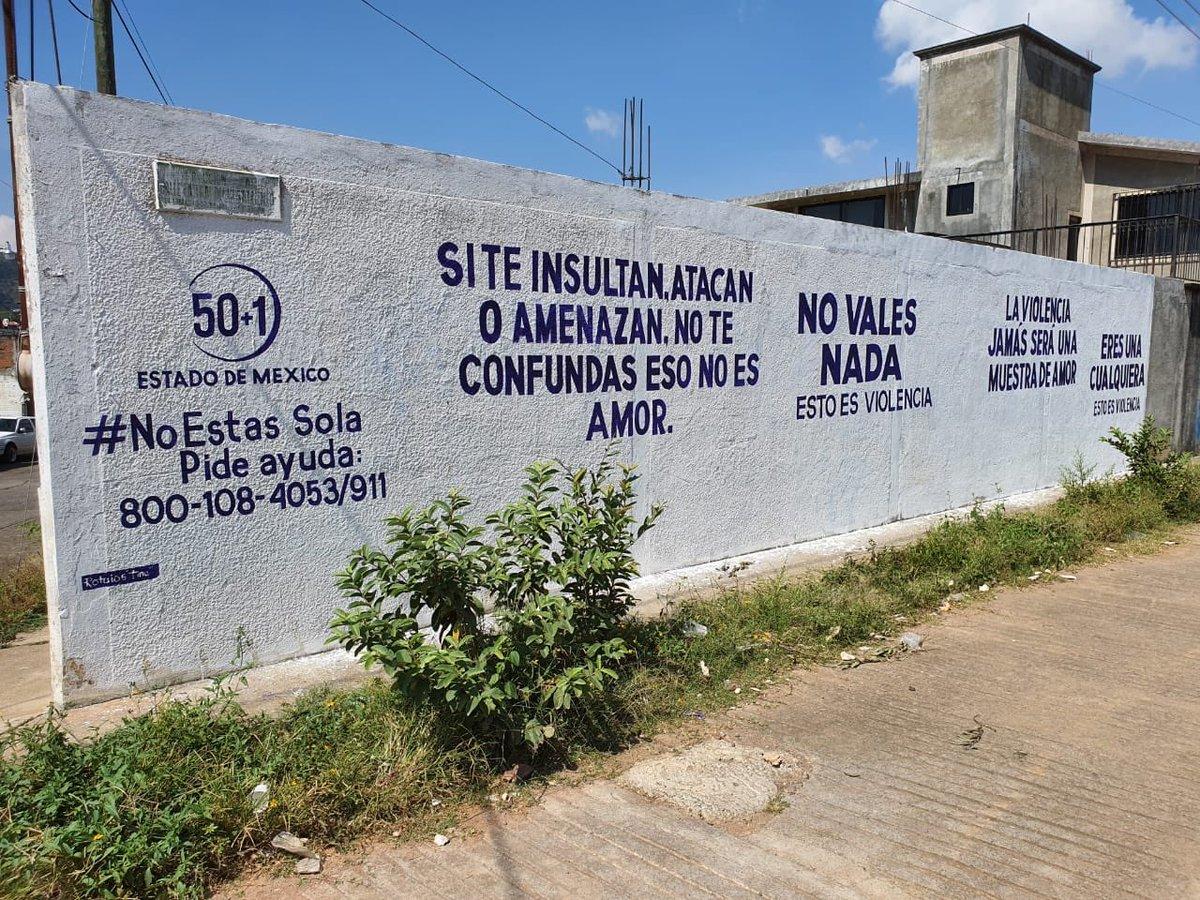 """¡Nuestras """"Letras de ayuda"""" ya están en #Tejupilco! 🙌🏼  Gracias a las mujeres y los hombres que hacen posible esta campaña de sensibilización y ayuda. 🙏🏼 https://t.co/o5a1sqJe4I"""