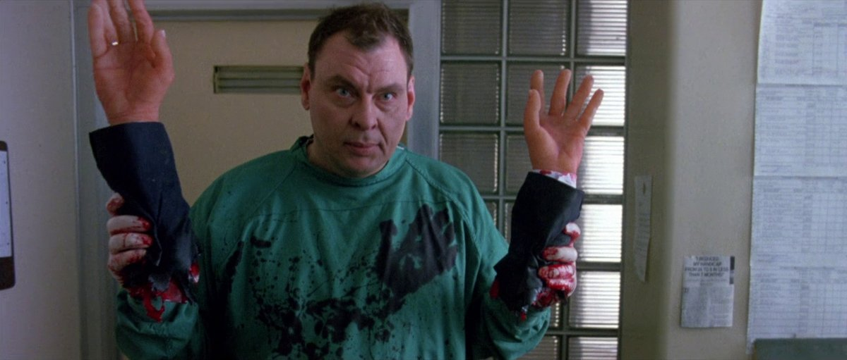 Y'know what? Nope, not done! More screencaps! #DrGiggles #LarryDrake #Gore #Slasher https://t.co/s2Y2iHLAa0
