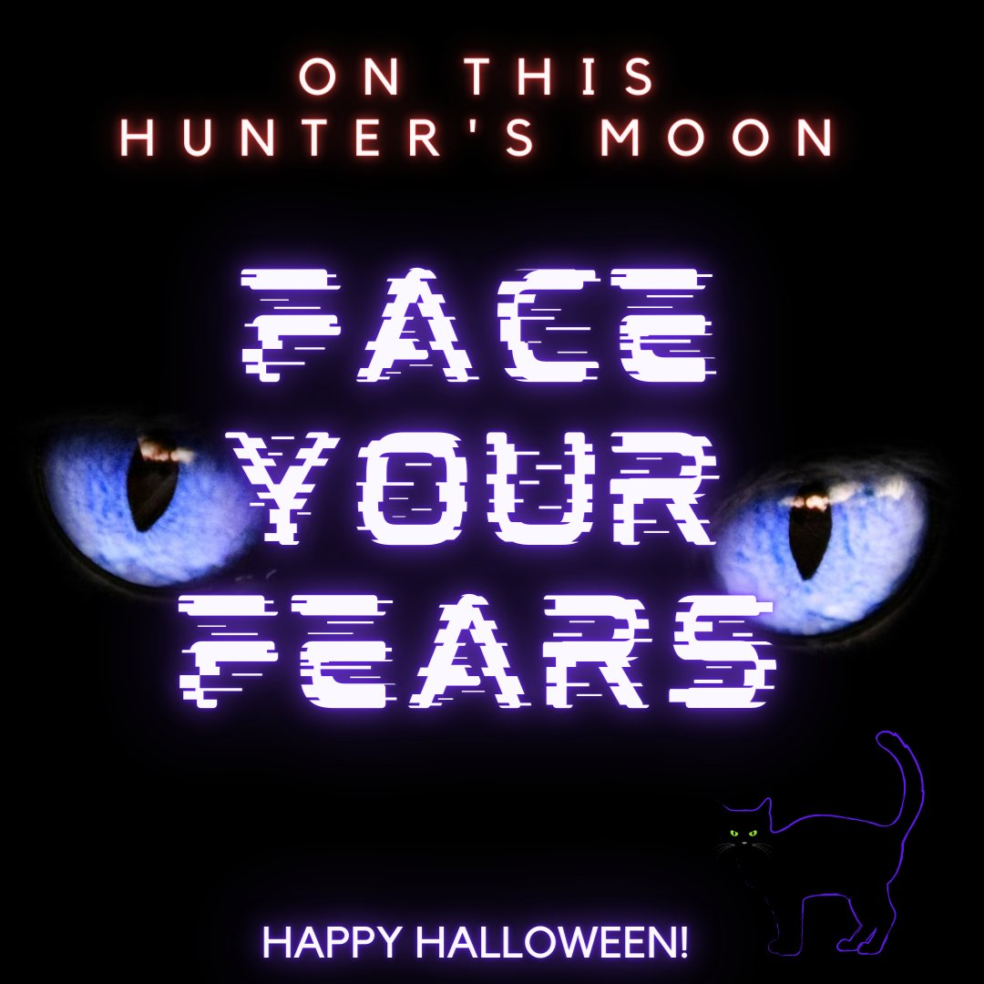 The hunters blue moon has a spiritual meaning of encouraging you to go seek out your dreams.  #seek #out #your #dreams #passions #lifegoals #tradition #rituals #happyhalloween #spirituality #bluemoon #break #cycles #moon #meditation #thehappysparkdesigner @thehappysparkdesigner https://t.co/p5aV7DLGC4