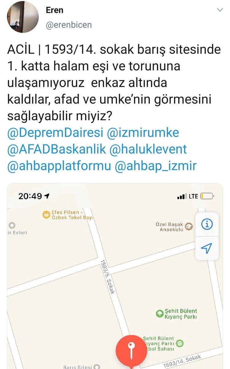 Arkadaşlar lütfen hızlı bir şekilde yayalım #izmir #Deprem #izmirdeprem