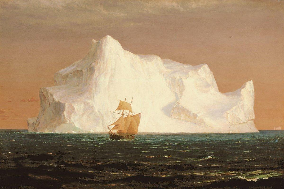 the study of icebergs