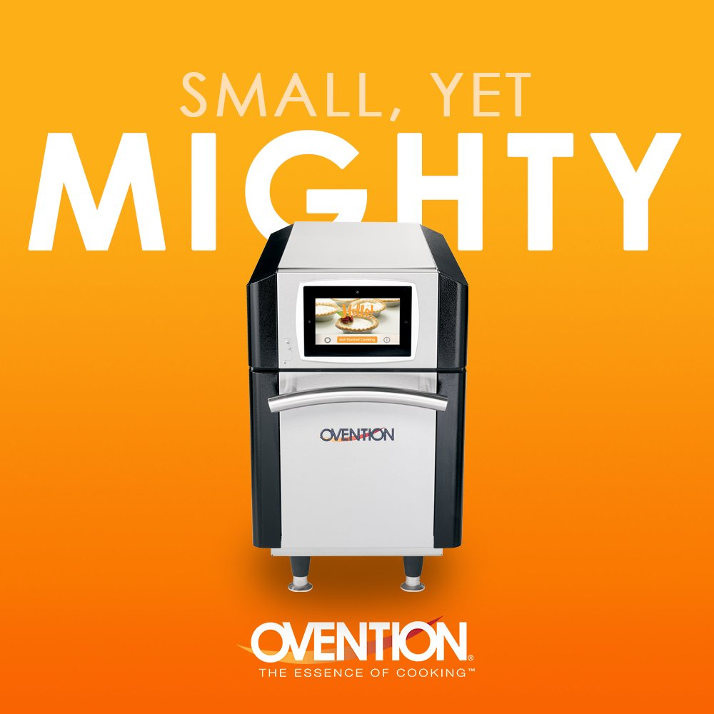 Don't let the size of the MiSA-a12 fool you! While this rapid cook oven has the smallest footprint among quarter-size pan units, it features more usable space than other cook units in its category. #ovention #microwave #oventionovens https://t.co/KdrOpRF04X
