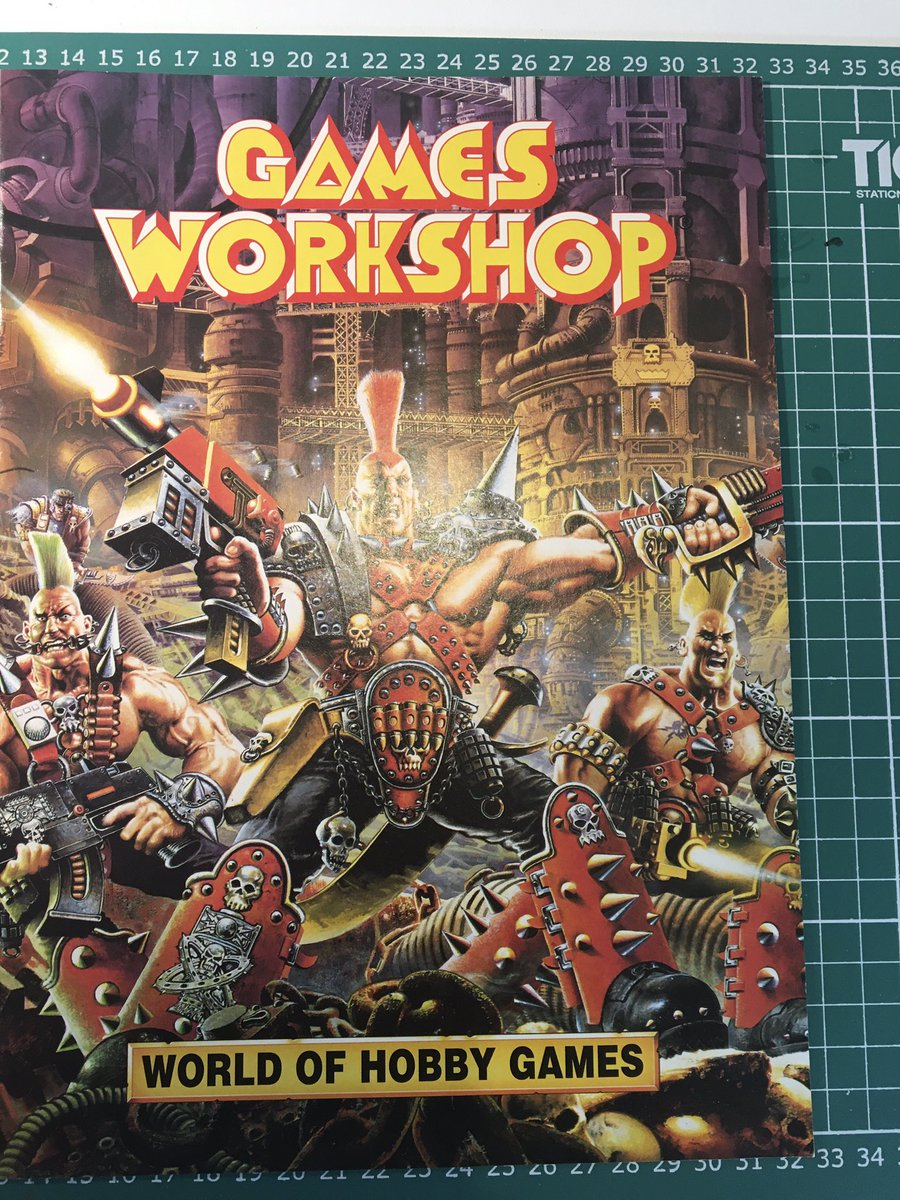 An early promo booklet 😁 #oldhammer #WarhammerCommunity #warhammer40k https://t.co/y8hs98VoXq