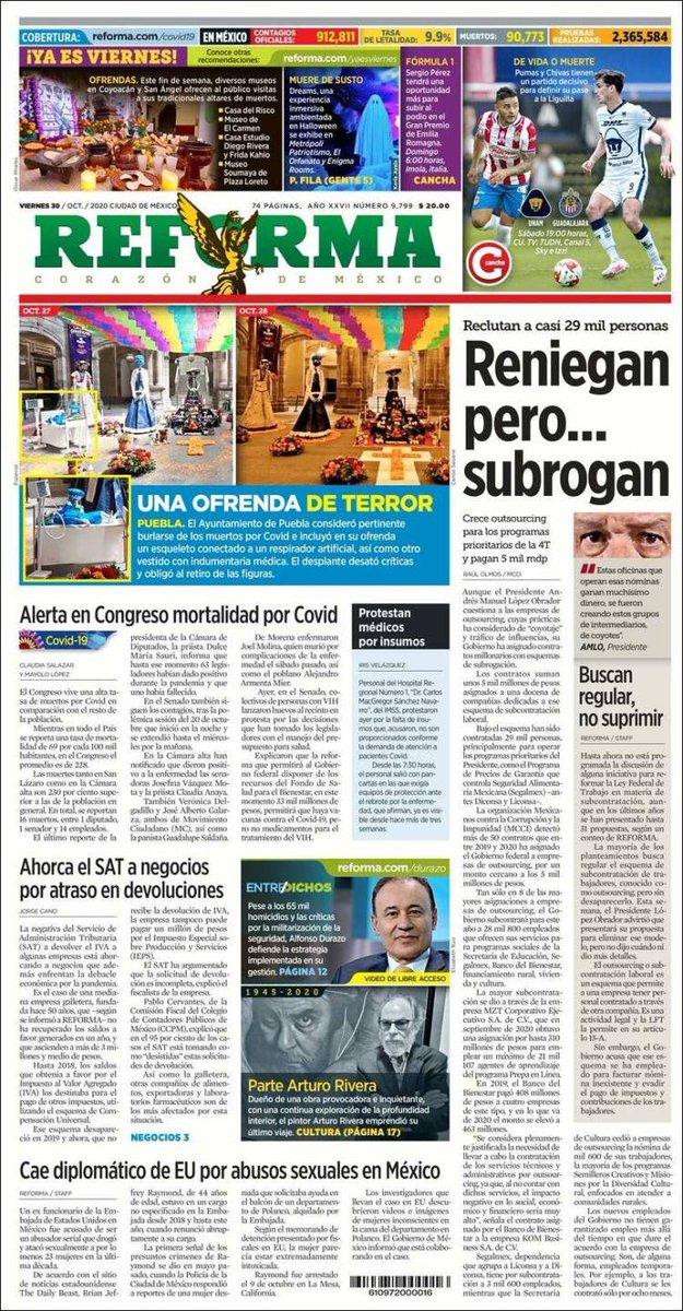 #FelizViernes #BuenViernes  #30Octubre #BuenosDias  Recordatorio diario👈🏻✅  #voten🙋🏻♂️🙋🏻  -Se gana en las urnas‼️  -Actualiza tu credencial‼️  -Suma amigos y familiares votó en contra Morena  #NiUnVotoAMORENA2021🚫  #LopezSiempreMiente🇲🇽  #VotoUtil2021✅  #UsaCubrebocas😷RT https://t.co/rhWpcvxEUv