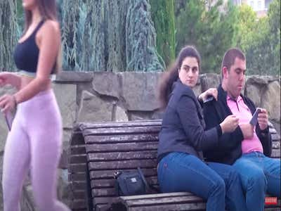 Brazilian woman prank big ass Clem On Twitter Pranksters In Georgia Set Up The Big Booty Prank A Social Experiment To See How Many People Would Look At An Attractive Woman After She Walked By Https T Co 9xkzqcr00v Https T Co Gworhk56te