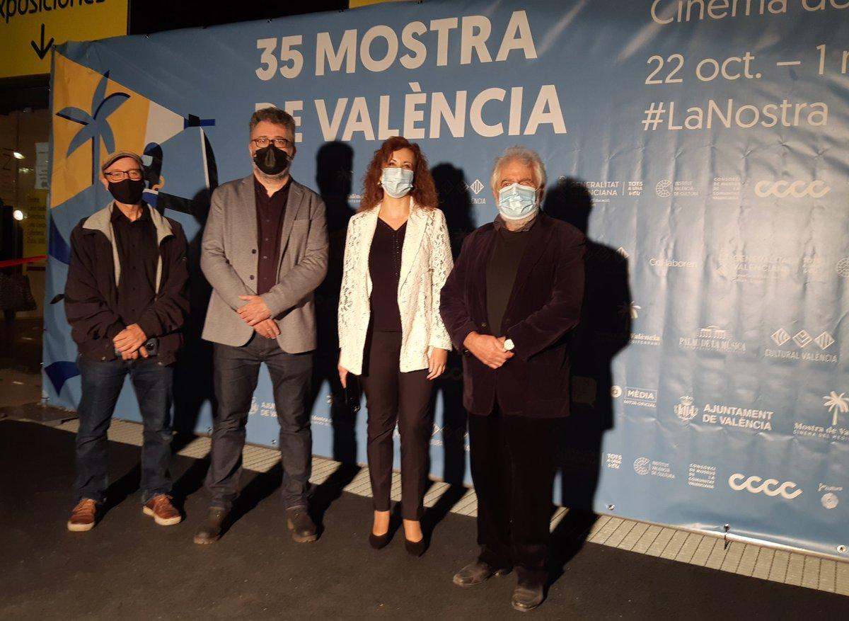 🎞 Clausura de @lamostravlc, Festival de Cine del Mediterráneo de València en @La_Rambleta. Enhorabuena a las películas premiadas 🎬🌴 #CulturaSegura #CineSeguro #VamosAlCine https://t.co/LEtYoKVK2V