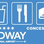 Image for the Tweet beginning: Midway's shops & restaurants have