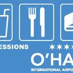 Image for the Tweet beginning: O'Hare's shops & restaurants have