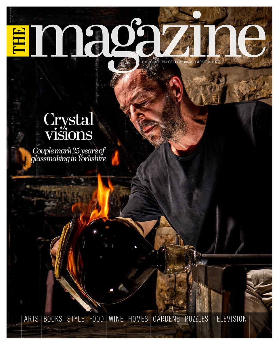 This weekends @yorkshirepost Magazine front cover Image by @snapperjim Feature by Lucy Oates #Yorkshire #newspapers #photography #buyapaper 📰 On sale Sat & Sun or subscribe.