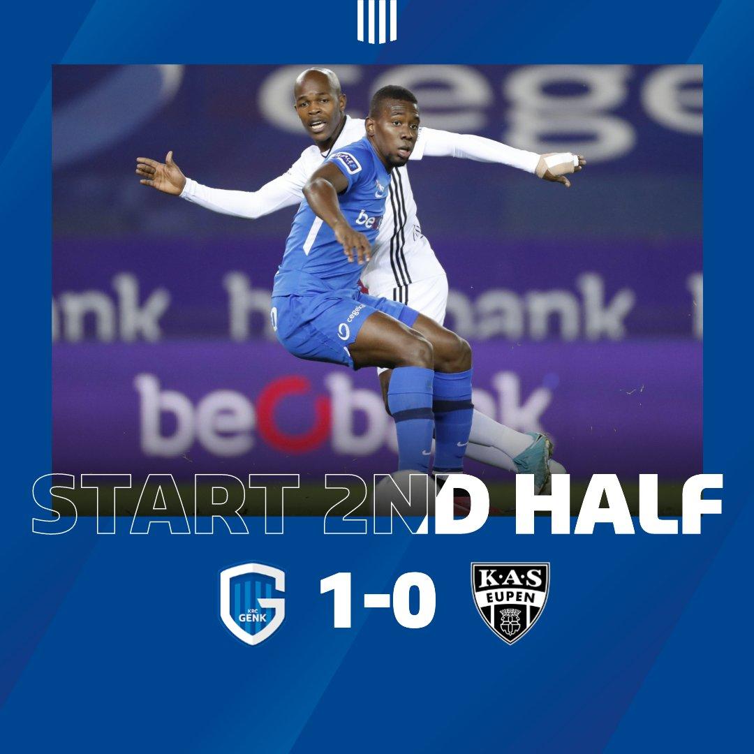 Full Time - Genk 4 - 0 Eupen - Belgium - First Division A Regular Season,  October 30, 2020