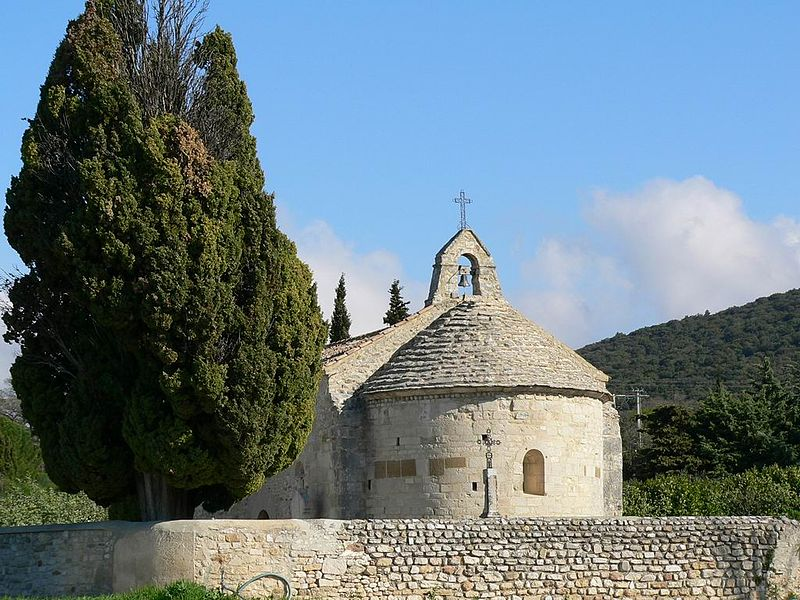 Chapelle Sainte-Anne à Le Pègue (Drôme).  #Patrimoine #MonumentHistorique 👉 https://t.co/Rk2dUWlIcz https://t.co/KZd7RIQESP
