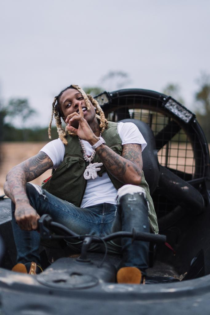 "This collab though 💥 @lildurk teams up with @6LACK and @youngthug for ""Stay Down."" Hear it now on Top Shelf Rap and R&B:"