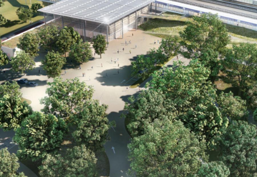 Transition écologique : 7 700 m2 de panneaux solaires sur le parking de la gare Nîmes Pont-du-Gard https://t.co/gtqjP3ZmOH @GroupeSNCF #partenaire https://t.co/w4l6jSHHYC