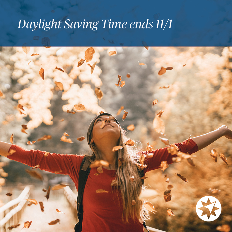Don't forget to set your clocks back this weekend. What will you do with your extra hour? https://t.co/MCnf6MyZrw