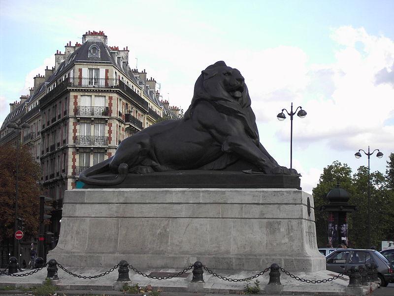 Monument du Lion de Belfort à Paris 14e Arrondissement (Paris). Lion édifié à la mémoire du colonel Denfert-Rochereau, défenseur de Belfort durant la guerre franco-prussienne. Sculpté par Bartholdi, l'artiste en pr�... #Patrimoine #MonumentHistorique 👉 https://t.co/4pBIpgBRGl https://t.co/V3Njxqqa9e