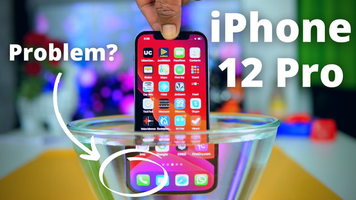 iPhone 12 Pro | A Smartphone Ahead of Time!!! 💥💥💥 Unboxing, Review, Water Test & LiDar Test  https://t.co/2fwS2GOTf1  #Apple #iPhone12Pro https://t.co/5w7jxU9GM3