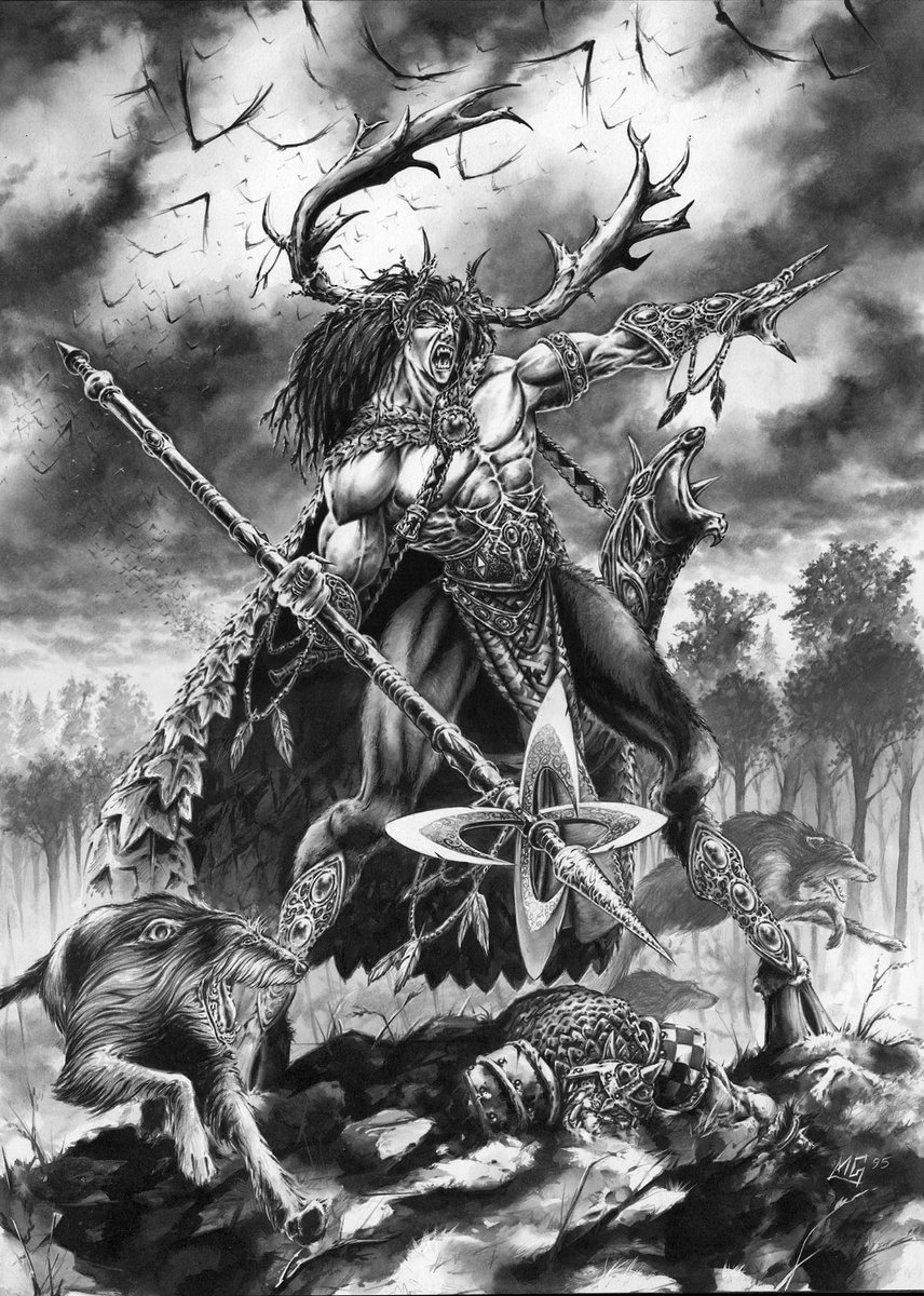 Orion, King of the Woods by Mark Gibbons  #oldhammer #warhammer https://t.co/Lu7IAm4LK0