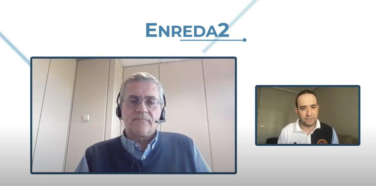 Os dejo segunda entrega del programa Enreda2 con un entrevistado de excepción, Antonio Casado  @acasadoruiz Realizador de @rtvenoticias @rtve 🧐👉 https://t.co/A95LwvWkhr  #profesionales #realización #televisión #tecnología #audiovisual #innovacióneducativa https://t.co/bndlUy5SbM
