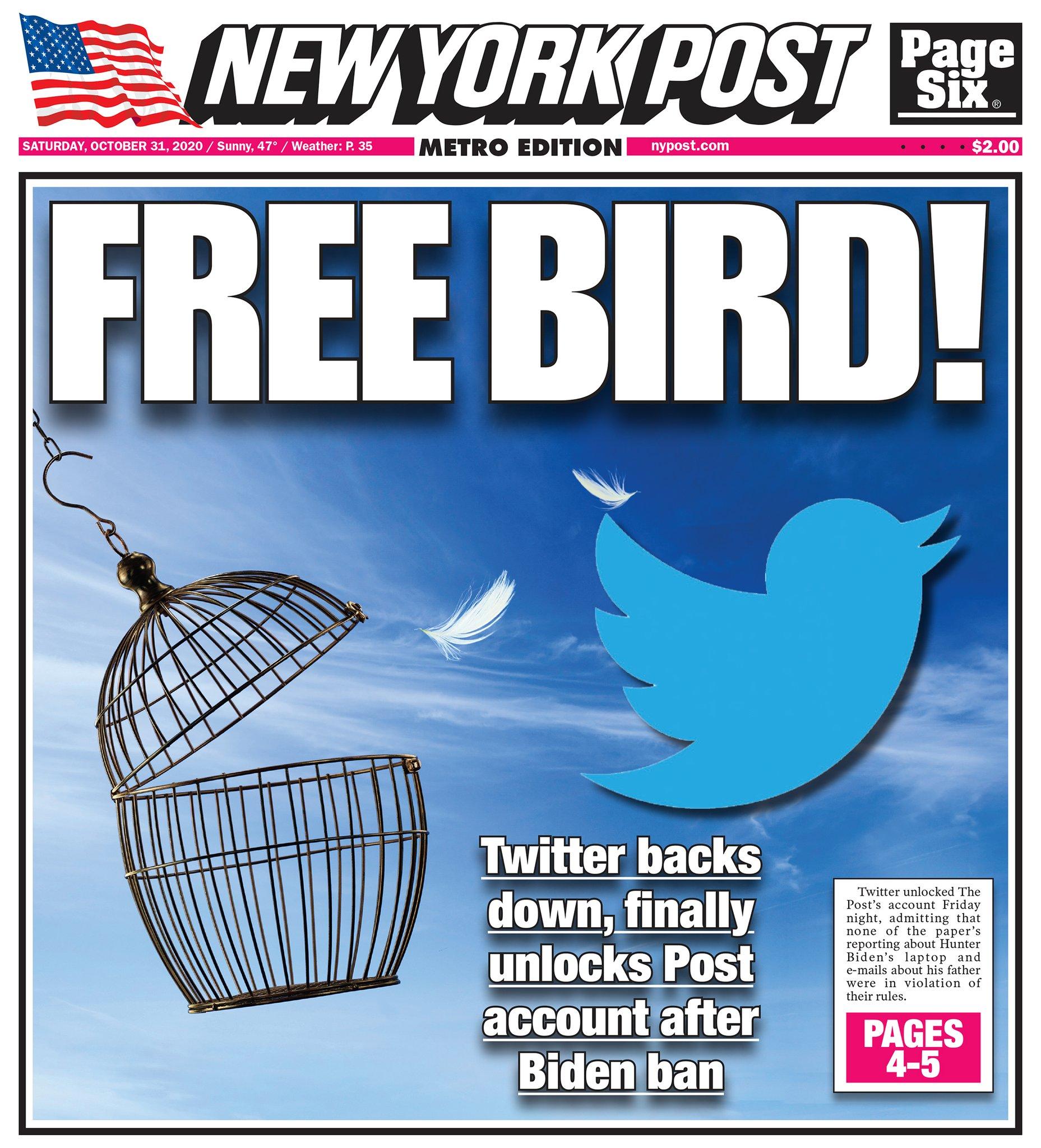 New York Post on Twitter