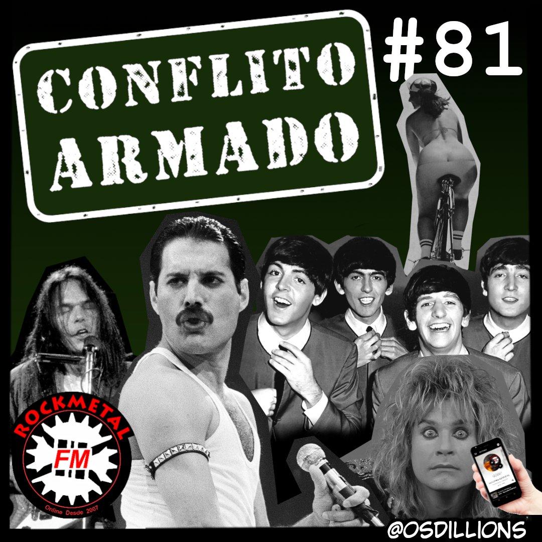 Conflito Armado. Domingo Às 13h e Sexta às 20h  Aplicativo RocKMetal: https://t.co/DM5FYnErtP  Confira: https://t.co/rWd6abnQRg  #eventos #shows #bandas #banda #band #bands #brasil #usa #world #radiorockmetal #novidades #destaques #rocknroll #rockmetal #heavymetal https://t.co/PxOa99K9tN
