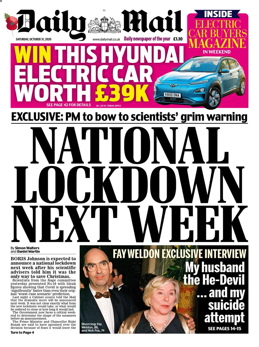 """I'm old enough to remember when Keir Starmer was called a """"shameless opportunist"""" for suggesting a national lockdown two weeks ago. https://t.co/h6IKe9OwtH"""