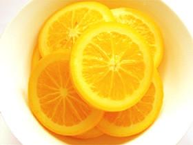 オレンジのシロップ漬け