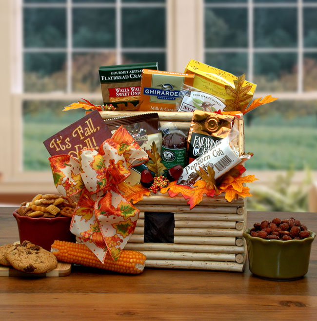 """Our Beautiful """"Unique"""" Keepsake """"Log Cabin"""" arrives with an """"Abundant"""" assortment of """"Fall Harvest Favorites"""" for their enjoyment.   #LogCabin  #UniqueGift  #Keepsake  #Fall Favorites  #It'sFallY'all https://t.co/lpsAUYy70Y"""
