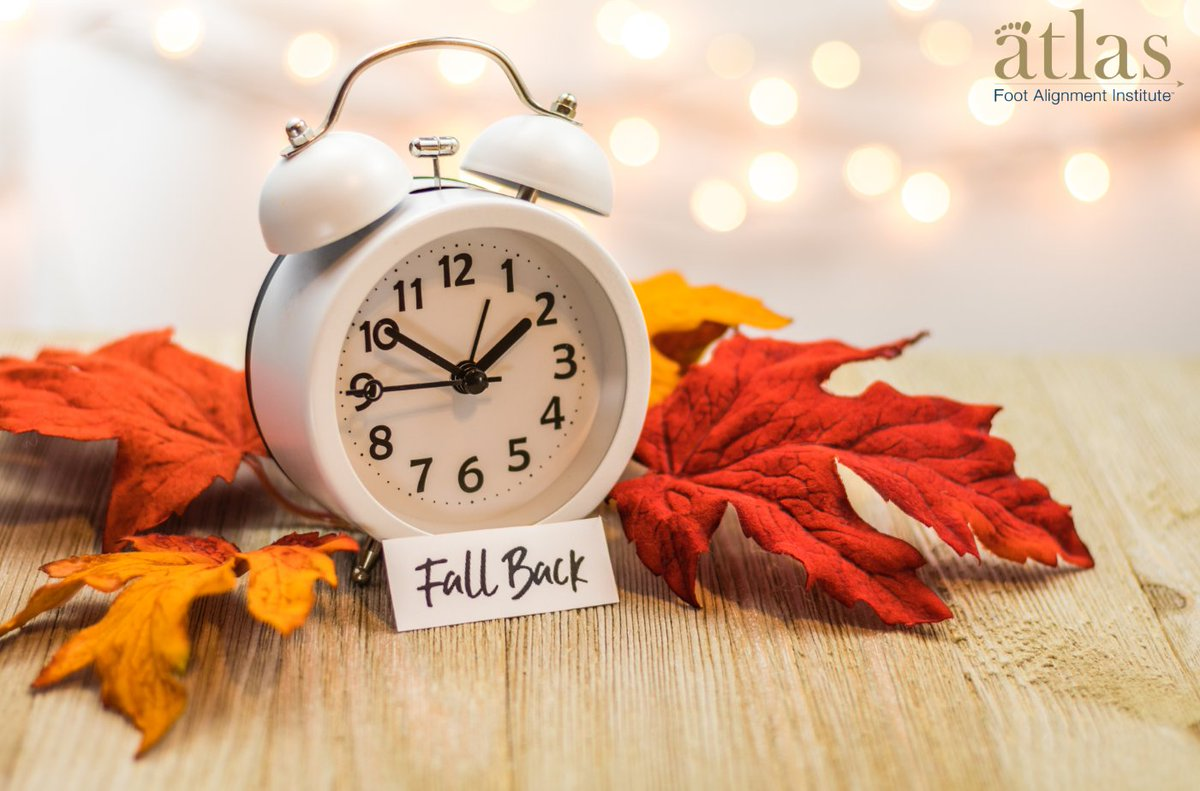Don't forget to fall back for end of Daylight Saving Time this weekend! #fallback #atlasfai #DaylightSavingTime #fall #november #autumn #fall2020 https://t.co/wvik8j39Md