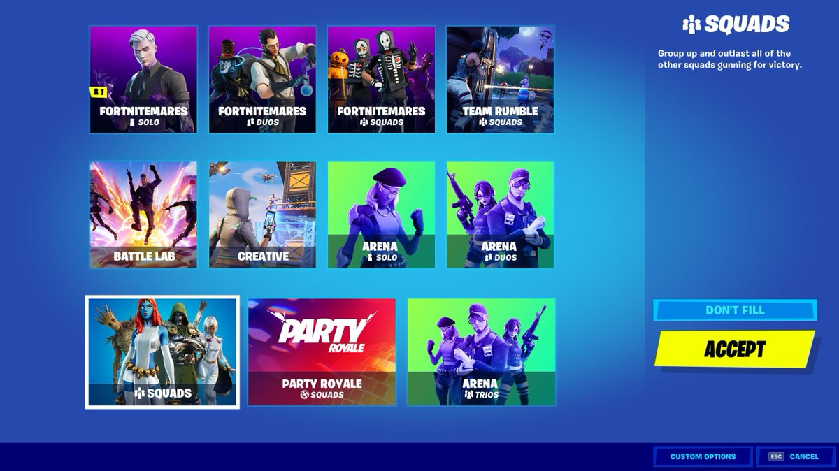 Fortnite Status On Twitter Playlist Update The Default Squads Playlist Has Returned To Battle Royale Drop In Analize official twitter account of fortnite (@fortnitegame) by words and their repeats of last year. fortnite status on twitter playlist
