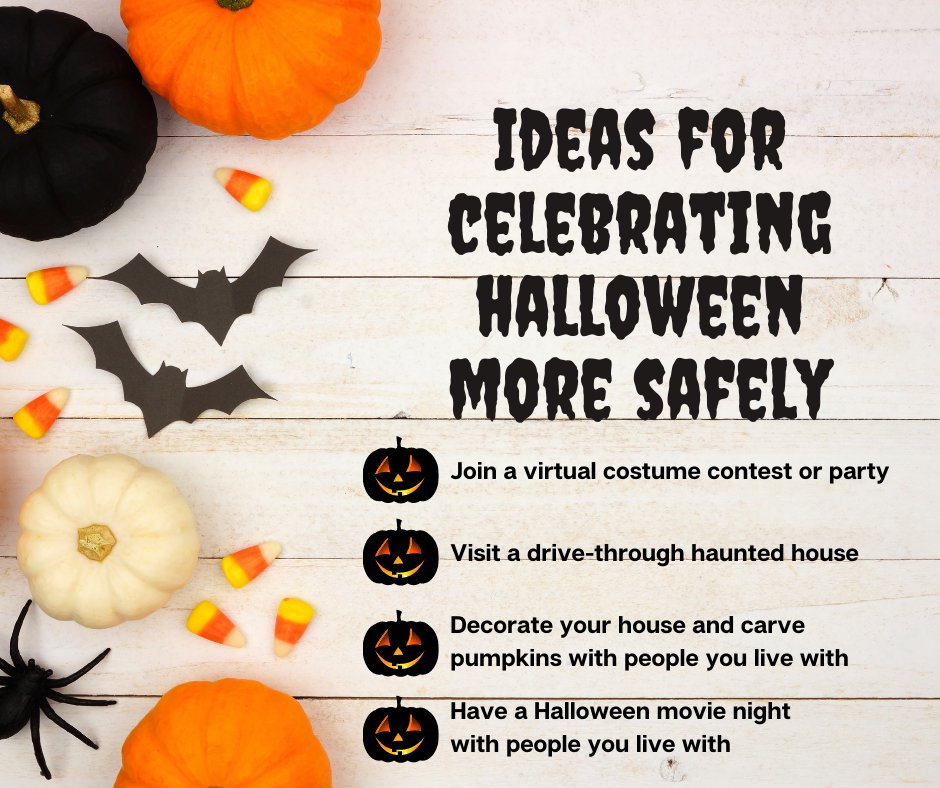 #COVID19 has really played a trick on us this year, but there's no reason why we can't treat ourselves and our kiddos this #Halloween and maybe even create new traditions in the bargain! https://t.co/frCCCdcDbF