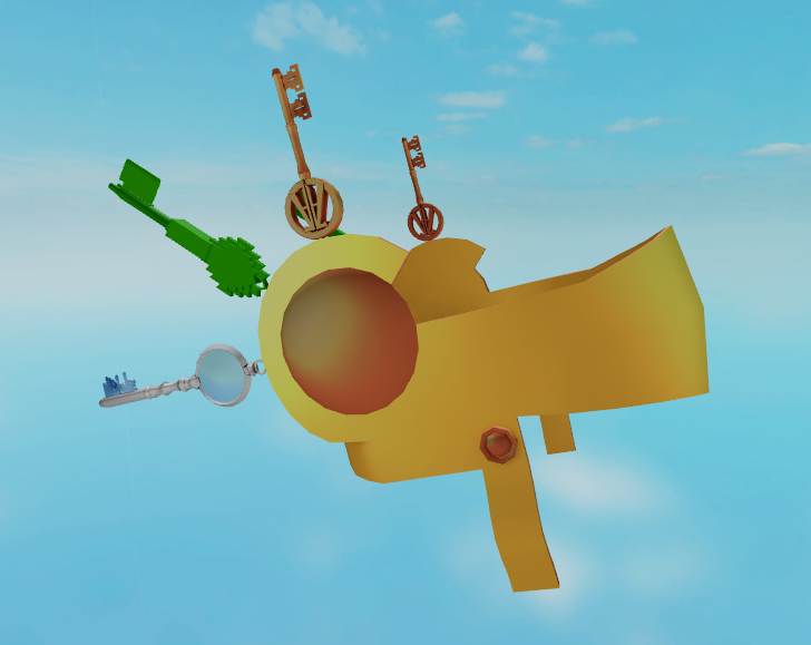 on twitter i found this roblox ready player two leak and i thought you guys might be interested i m assuming this is the grand prize for the event rp2 hype roblox twitter