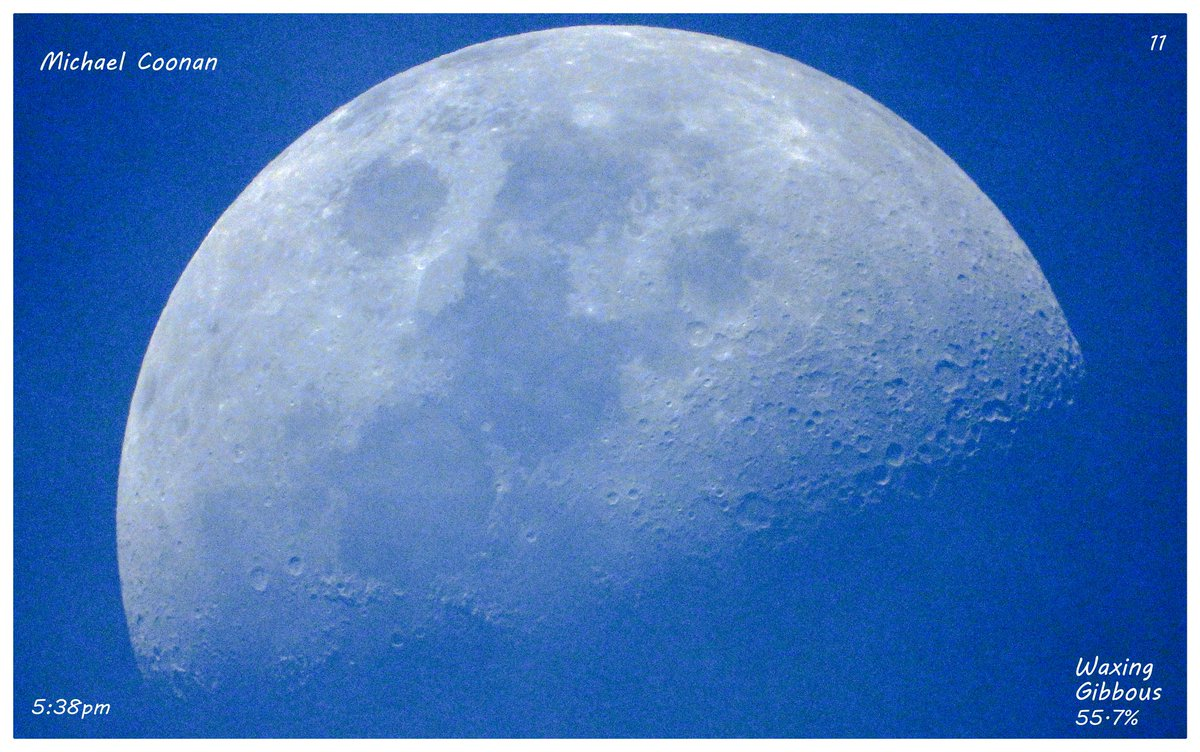 Sunday Evening October 24th Waxing Gibbous Moon 57.7% in Wodonga Australia #StormHour #moon #luna #moonshot #Moon_awards #astrophotography #astronomy @CherScheff @KayMcCaffery1 @PicPublic @PicPoet #500pxrtg @ThePhotoHour @BonfirePictures @500pxrtg https://t.co/AGrt10OvdQ
