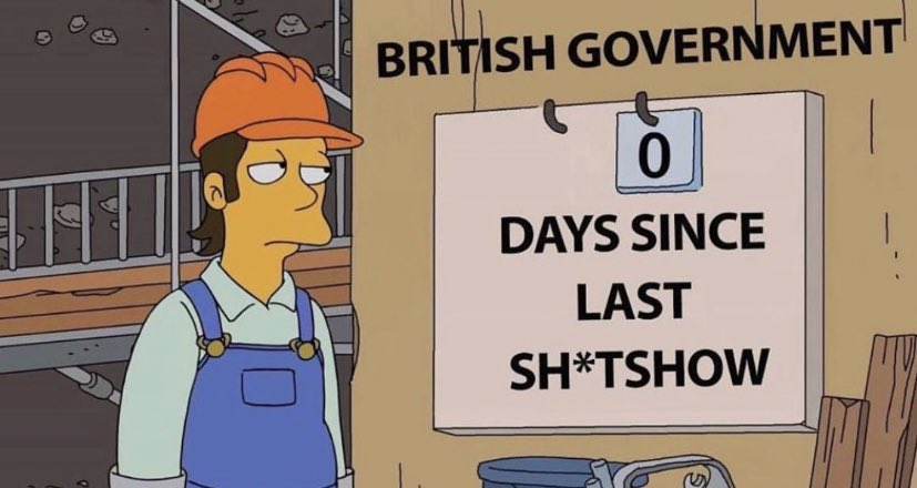 So instead of the two week circuit break, guided by the science, which Boris said would be a disaster for the UK, we're heading for a national lockdown. Make it make sense. https://t.co/jRIwqcFDV2