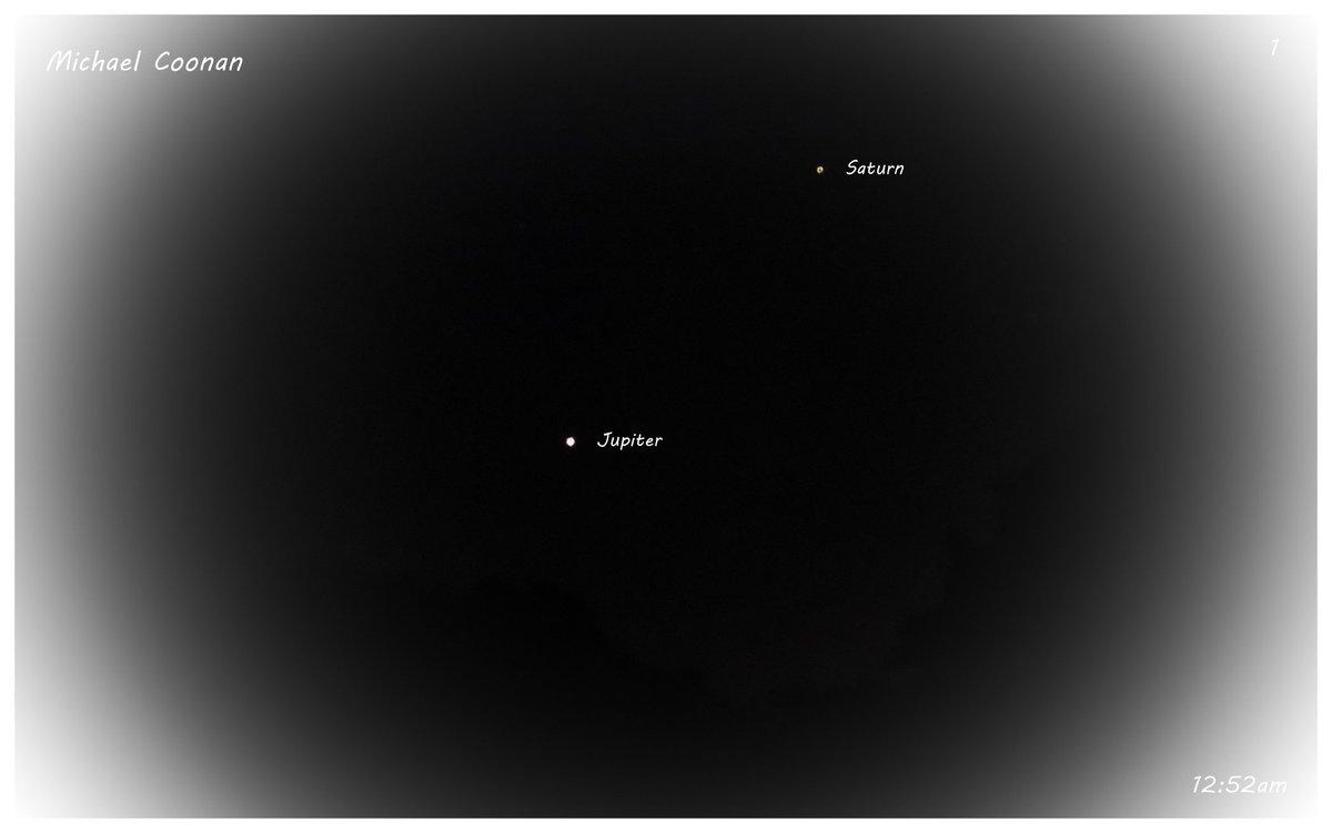 Sunday October 25th Jupiter and Saturn in Wodonga Australia #StormHour #moon #luna #moonshot #Moon_awards #astrophotography #astronomy @CherScheff @KayMcCaffery1 @PicPublic @PicPoet #500pxrtg @ThePhotoHour @BonfirePictures @500pxrtg https://t.co/bEiDrDnrea