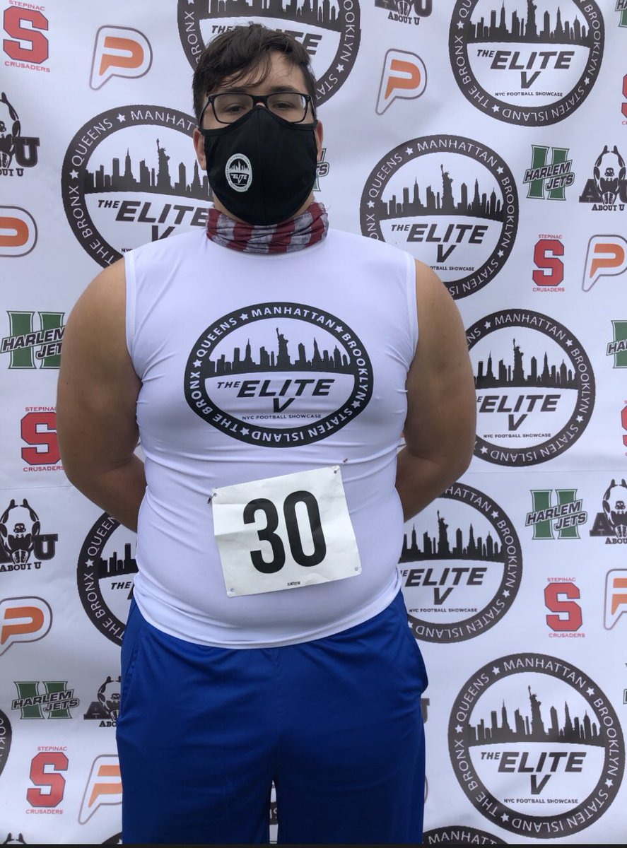 Thank you @showcase_v for giving kids of NYC a chance to show their skills. I had a great time competing against the best in NYC.Thank you @StepinacSports for hosting the showcase. @aboutunyc @Harlem__Jets @Coachlanese13 @CoachAlexCoombs @Player_Pager @STP_Eagles @the_proedge