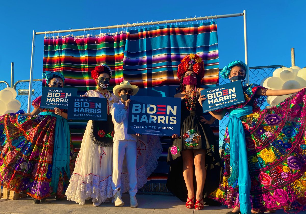 Finishing off Early Vote in Person in Nevada Latino Style🔥🔥