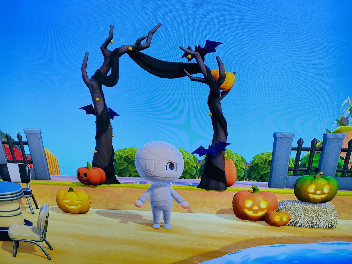 test ツイッターメディア - おはゼーットト!今日はハロウィン🎃あつ森のオレの島もハロウィン一色。ゆめみで遊びに来てね。カッコン島🏝夢番地 DA-3464-3881-5916 今日も良い一日を! Pura vida ! #あつまれどうぶつの森 #ハロウィン #夢番地  #水木一郎 https://t.co/cstRVaRHnP