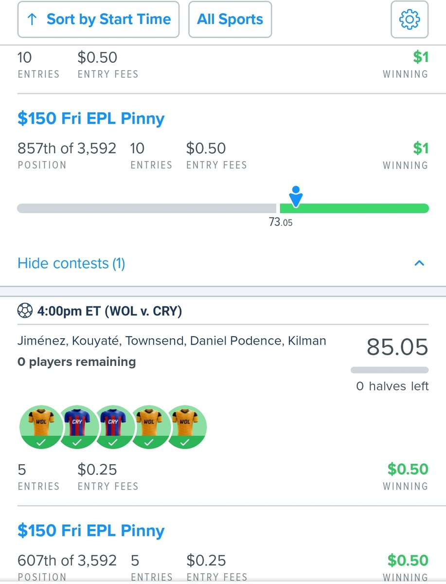 🔥Join #FREE ➡️ https://t.co/dLBNGuv5It🔥 as another #win was just posted for Team Prime!  The #best #DailyFantasySports #DFScontent ! 🌐🔗 is https://t.co/p5UVPhh807   Soccer single Game GPP Cash!!   #FanDuel #DraftKings #DFS #sportspicks #NBA #NFL #MLB https://t.co/5uw93TZ1o8