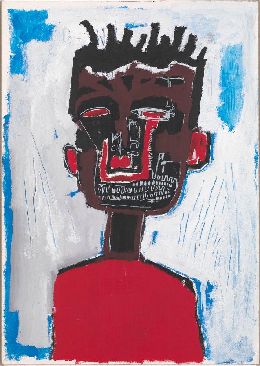 Self-Portrait, 1984 wikiart.org/en/jean-michel… #neoexpressionism #americanart
