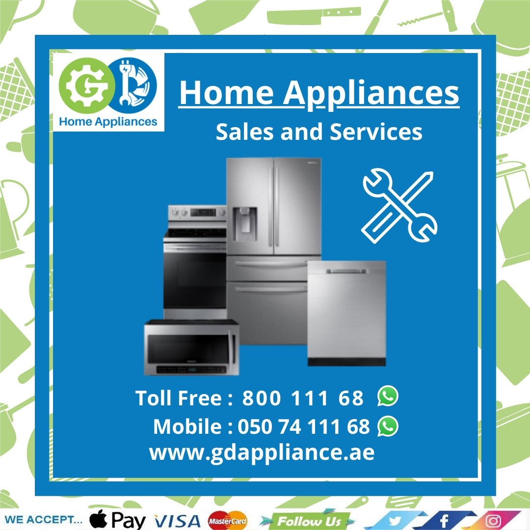 Looking for an appliance repair expert? Call us today! Tel: 043511168 Whatsapp: 0507411168  #appliancerepair #refrigerators #washingmachine #dishwasher #oven #microwave #dryer #homeappliance #repairs #Dubai https://t.co/GxP2LkX5wJ