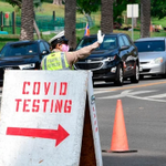 Image for the Tweet beginning: US records 97,000 new COVID-19