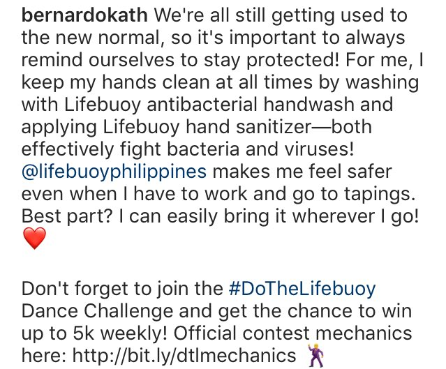 @lifebuoysoap makes me feel safer even when I have to work and go to tapings. Beat part? I can easily bring it wherever I go! ❤️ #KathrynForLifebuoy #DoTheLifebuoy   📸: bernardokath