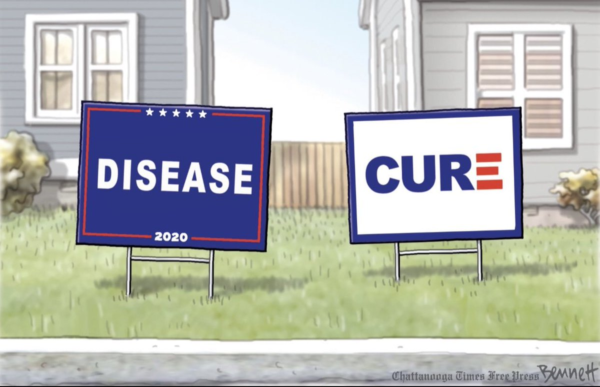 You can vote for the disease or the cure.  Your move.  #VoteBlueToEndTheNightmare https://t.co/p2XVQHvHzn