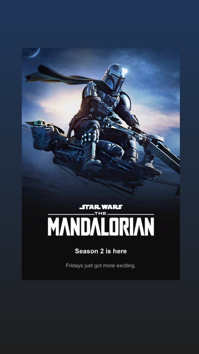 """Watched the Mandalorian season 2 premier with a couple of friends. You have until Sunday to watch the episode before the """"On My Box Mini Episode - Mandalorian S2E1"""" episode drops. #Mandalorian #MandalorianSeason2 #StarWars #DisneyPlus #podcast https://t.co/ih4uYefRCC"""