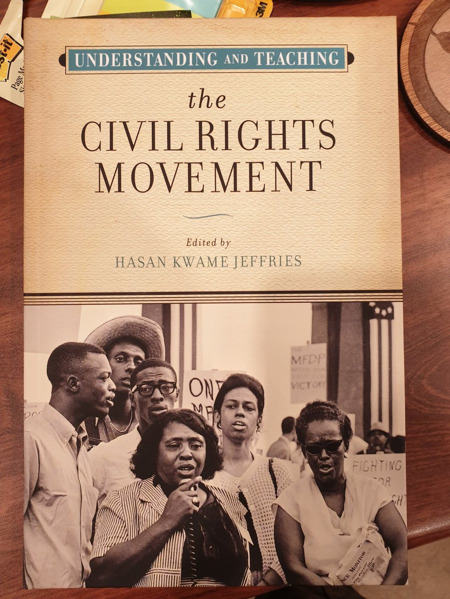 One of the challenges in  #teaching the #hardhistory of America's freedom struggle (including the #history of the civil rights movement) from Australia is knowing best practice. @ProfJeffries' text shares both the history and the pedagogical approaches needed by many educators. https://t.co/czctyARNKM